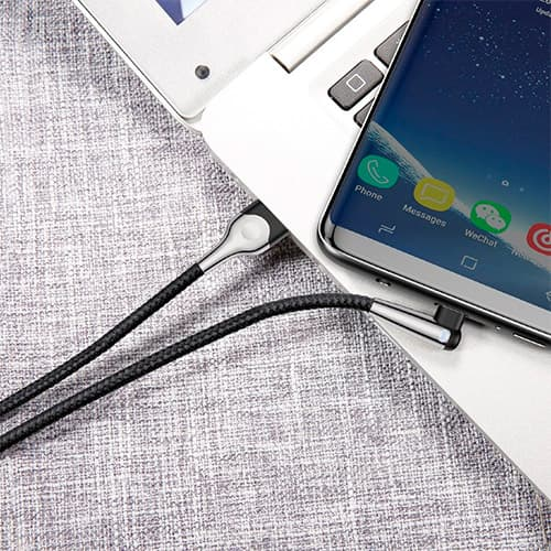 Baseus sharp-bird mobile game cable USB For Type-C 2A 2M Black