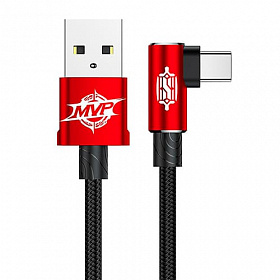 Baseus MVP Elbow Type Cable USB For Type-C 1.5A 2M Red