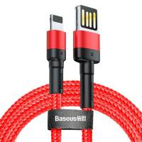 Baseus Cafule Cable (special edition) USB For iP 1.5A 2m Red