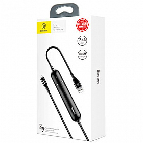Baseus Energy Two-in-one Power Bank Cable Black